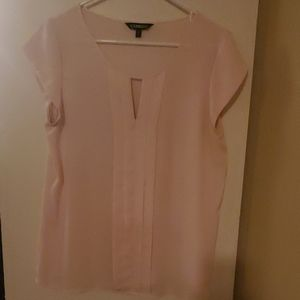 Womens pink blouse